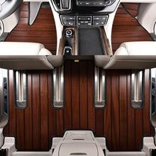 适用汉ag达木地板实es09-18年新老式专用木质汽车全包围柚木