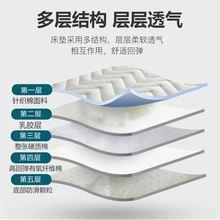 尺寸绒ag床垫爬行沙fa慢床垫床被褥子加厚高中生垫回弹薄型的