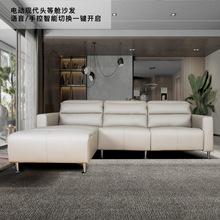 [aiboke]真皮沙发现代简约客厅皮艺