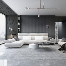 地毯客ai北欧现代简le茶几地毯轻奢风卧室满铺床边可定制地毯