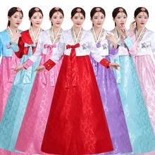 韩服女aj韩国传统服ve结婚朝鲜民族表演舞台舞蹈演出古装套装