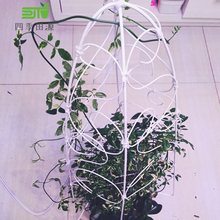 包塑铁丝细手工DIY软造al9园艺植物ne包胶爬藤杆电线固定绳