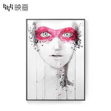 [alexg]现代简约装饰画抽象人物时