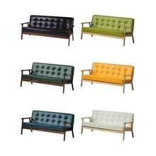 两个的al的沙发北欧ao现代(小)户型美式乡村复古客厅民宿咖啡