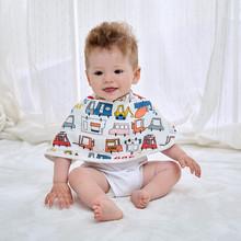 拍嗝巾婴幼儿打咯巾宝宝大