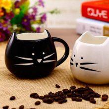 景德镇陶瓷黑白猫可爱风陶
