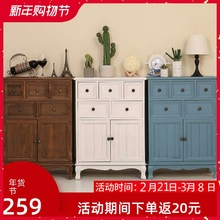 斗柜实am卧室特价五gi厅柜子储物柜简约现代抽屉式整装收纳柜