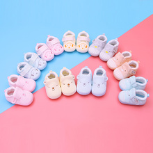 新生婴an鞋子春秋0ie9个月婴幼儿软底学步男女宝宝不掉鞋步前1岁