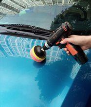 无线汽an抛光机打蜡ie式电动打磨封釉机地板家具划痕修复工具