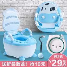 坐便器an孩女宝宝便et幼儿大号尿盆(小)孩尿桶厕所神器