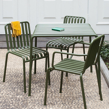 丹麦花an户外铁艺长ko合阳台庭院咖啡厅休闲椅茶几凳子奶茶桌