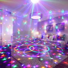 彩灯装an房间闪灯串la星七彩变色春节ktv酒吧氛围灯星空家用