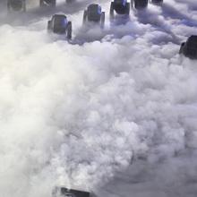 新式大an率4000la机婚庆道具舞台特效烟雾机婚礼干冰机地烟机