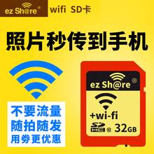 易享派and内存卡相uifi sd卡32g单反内存卡高速存储卡无线sd卡适用佳能