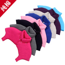 四季防an护肩衣男女ui年的睡觉保暖护肩有领月子纯棉加厚坎肩