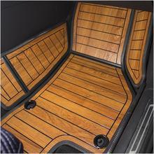 克莱斯an大捷龙专用ho车脚垫柚木地板七座1317式内饰改装定。
