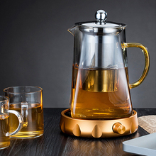 大号玻ao煮茶壶套装ou泡茶器过滤耐热(小)号家用烧水壶