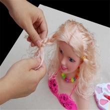 乐吉儿ao带收纳功能ve岁女孩半身头配化妆饰品套装玩具