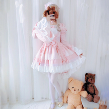 花嫁laolita裙hu萝莉塔公主lo裙娘学生洛丽塔全套装宝宝女童秋
