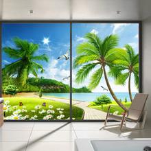 家用卧ap防窥视磨砂te透明阳台窗户浴室卫生间遮光膜