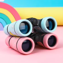 宝宝望ap镜(小)型便携ng具高清高倍迷你双筒女孩微型户外望眼镜