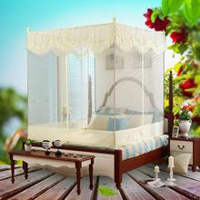 三开门aq帐1.8方po式蒙古包1.2米加密加厚双的家用纹帐1.5m床