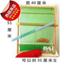 儿园儿aqdiy实木an织板壁毯挂毯毛线a手工制