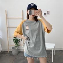 衣服外aq夏季时尚产an衣服短袖t恤辣妈式月子夏装上衣潮