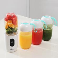 日本家ar水果(小)型便as你电动多功能料理炸果汁机榨汁杯