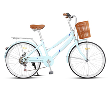 永久自as车女式变速rt通老式复古轻便学生成年的通勤共享单车