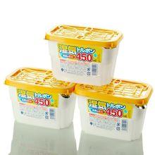 日本进as家用室内衣rr剂防潮剂衣物防霉吸湿剂颗粒3盒