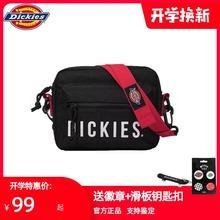 Dickies帝客2021新式as12方潮牌an男女士休闲单肩斜挎包(小)方包