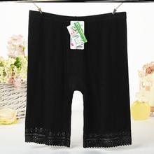 一裤两穿安as裤纯棉特大60的防走光2020年防漏打底裤女款孕妇