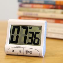 家用大au幕厨房电子ce表智能学生时间提醒器闹钟大音量