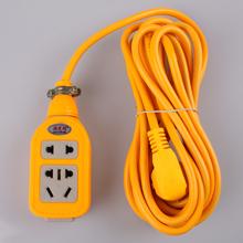 包邮大aw率接线板电ke调插座3/5/8/10米延长线板电源排插