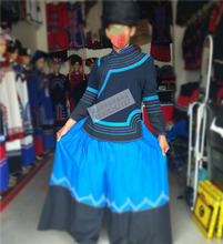 凉山西ax彝族服饰服lc套装刺绣花中山装少数民族风格服饰包邮