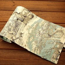 麋鹿3ax 48 7lc笔袋韩国简约大容量帆布男女生美术学生彩铅笔帘