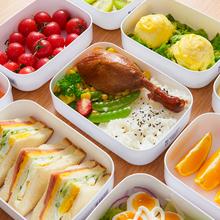 日本进ax冰箱保鲜盒lc炉便当盒食物收纳盒密封冷藏盒