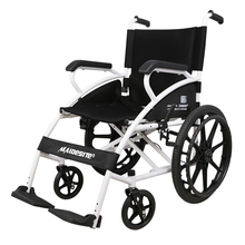 迈德斯ax手动轮椅老lc叠轻便残疾的家用手推四轮代步车124DF