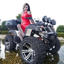 大型四轮越野车ax4向盘全地lc无级变速成的四驱农夫车代步车