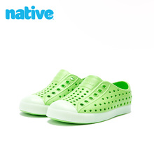 Nativeax季男童女童lc20新款Jefferson夜光功能EVA凉鞋洞洞鞋