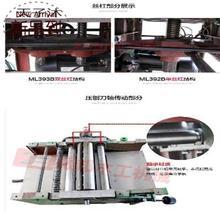 多功十ax一/g压刨lc械多用/电锯刨床电刨机床ml393台式木工