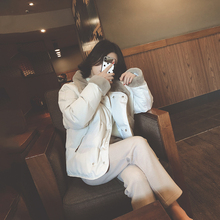 冬装2ax20年新式ja羽绒棉服女装短式(小)棉衣面包服加厚棉袄外套