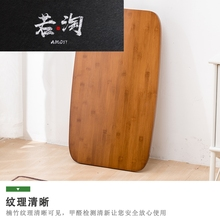 床上电ay桌折叠笔记la实木简易(小)桌子家用书桌卧室飘窗桌茶几