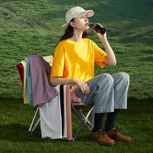 [第二ay半价] P66福利式2020年夏新式短袖韩款宽松T恤女百搭半袖