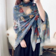 [ayi666]薄款超大丝巾女夏季韩版防