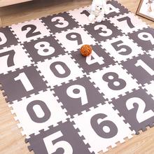 泡沫地ay卧室拼图地66爬行卡通数字拼图地毯垫子拼接榻榻米