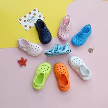 宝宝洞ay鞋201966尚男童沙滩鞋1-10岁婴幼儿防滑女童凉鞋软底