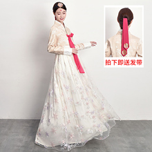 韩服女ay韩国传统服un结婚朝鲜民族表演舞台舞蹈演出古装套装