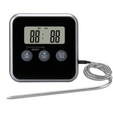 TS-azN56 烤ye烧烤探针报警食品电子温度计 厨房定时器计时器